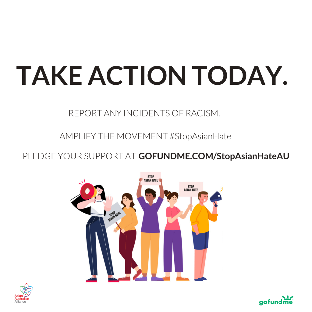 Stop Asian Hate Australia - Take Action Today