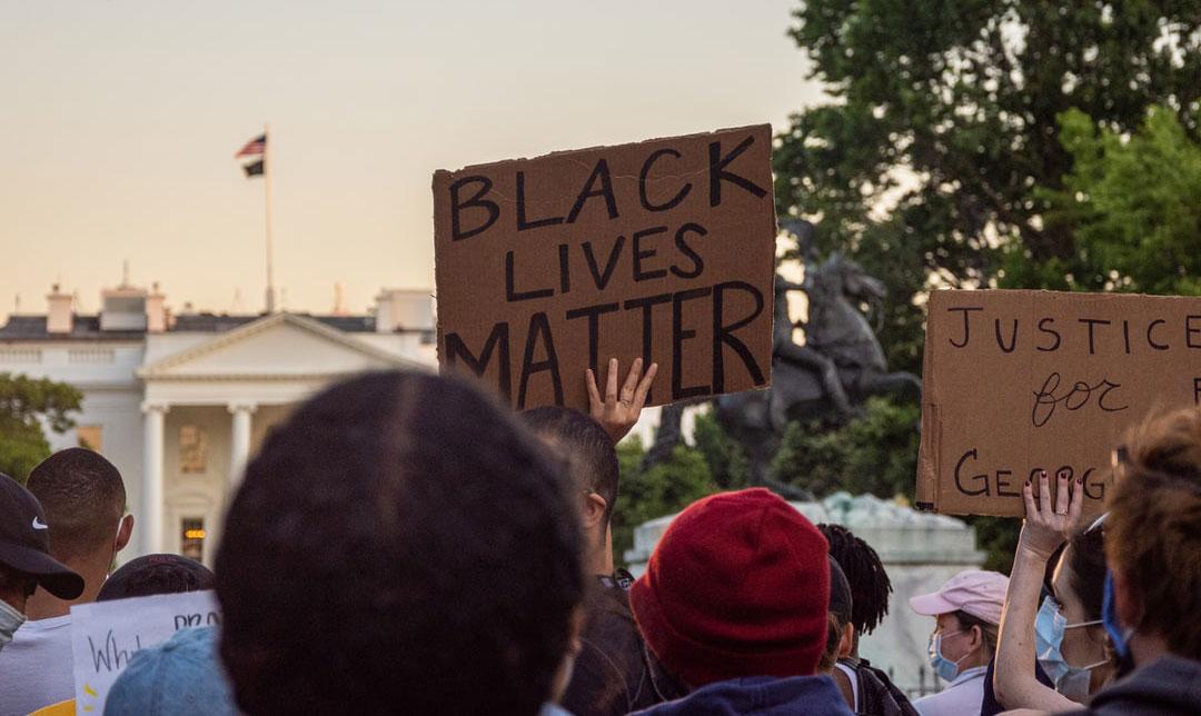 Protestors for Black Lives Matter
